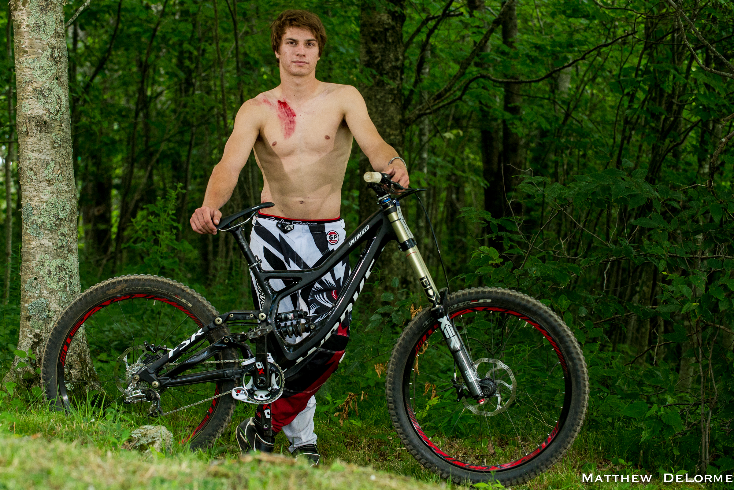 Mitch Ropelato S Specialized S Works Demo 8 At Us National