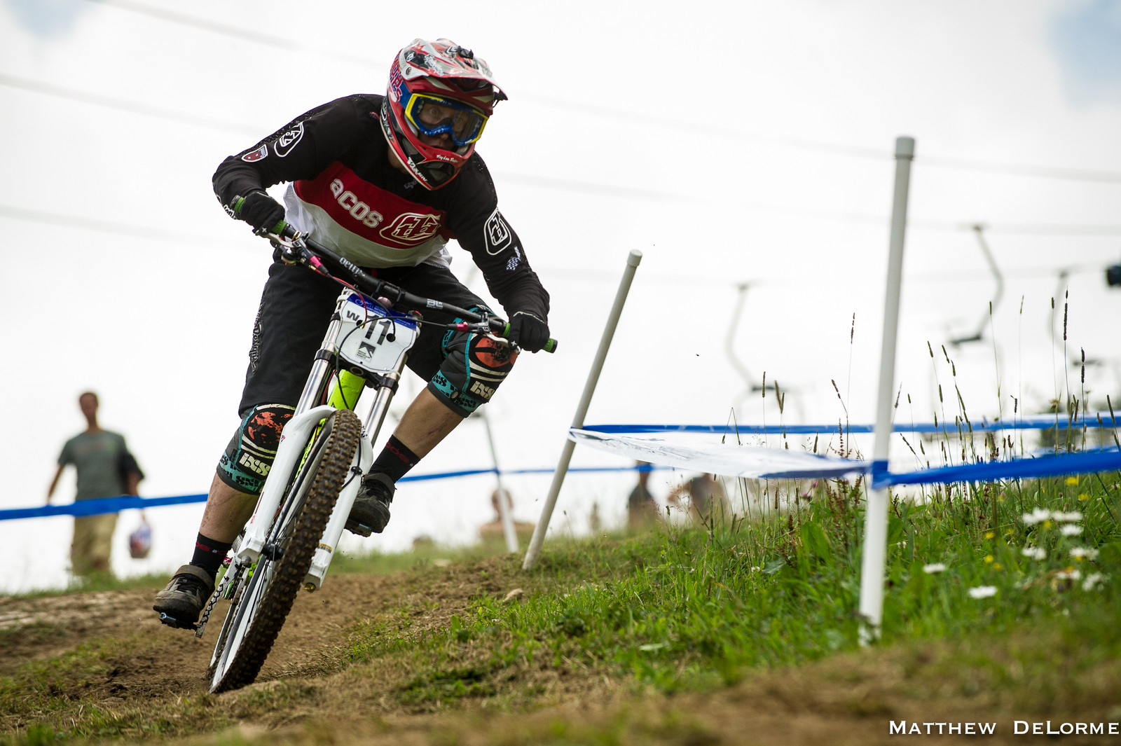 Jackie Harmony, 1st Place Pro Women's Qualifier at U.S. National Champs - U.S National Championship Dual Slalom Finals and DH Qualifying - Mountain Biking Pictures - Vital MTB