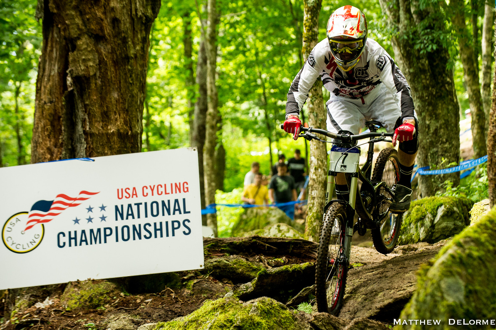 Curtis Keene at U.S. National Championships - U.S National Championship Dual Slalom Finals and DH Qualifying - Mountain Biking Pictures - Vital MTB