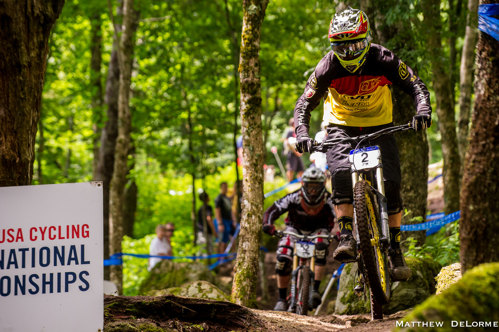 Luke Strobel, 2nd Place Qualifier at U.S. National Championships - U.S National Championship Dual Slalom Finals and DH Qualifying - Mountain Biking Pictures - Vital MTB