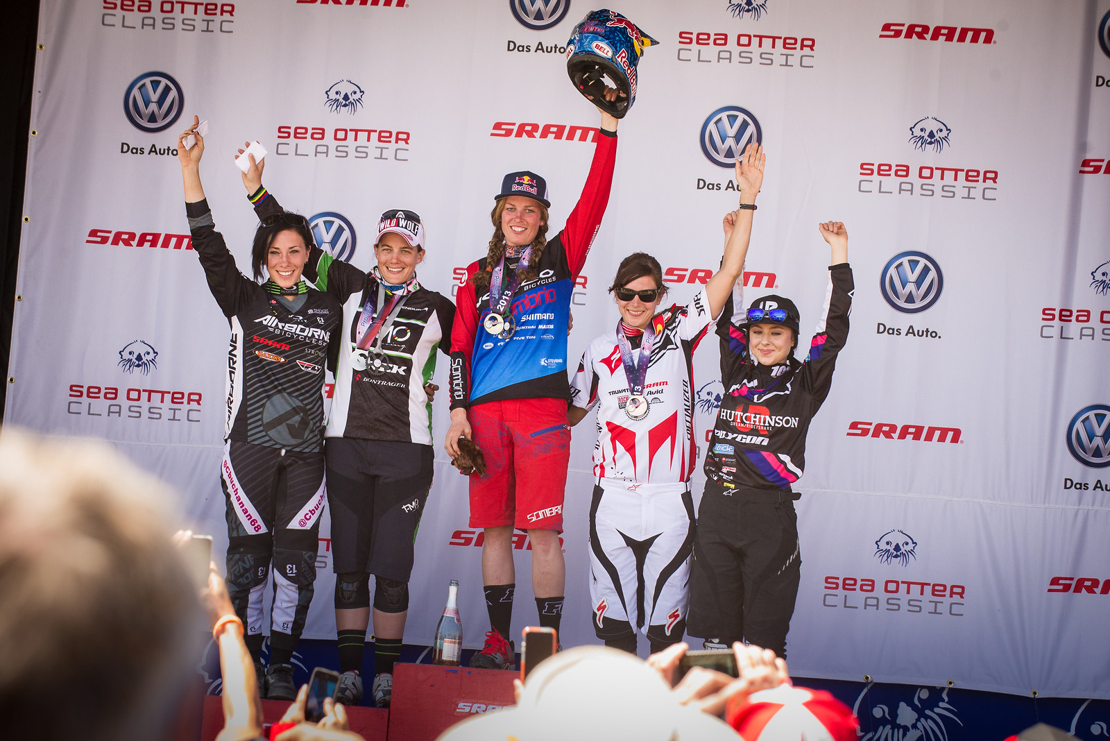 Women's DH Podium - mdelorme - Mountain Biking Pictures - Vital MTB