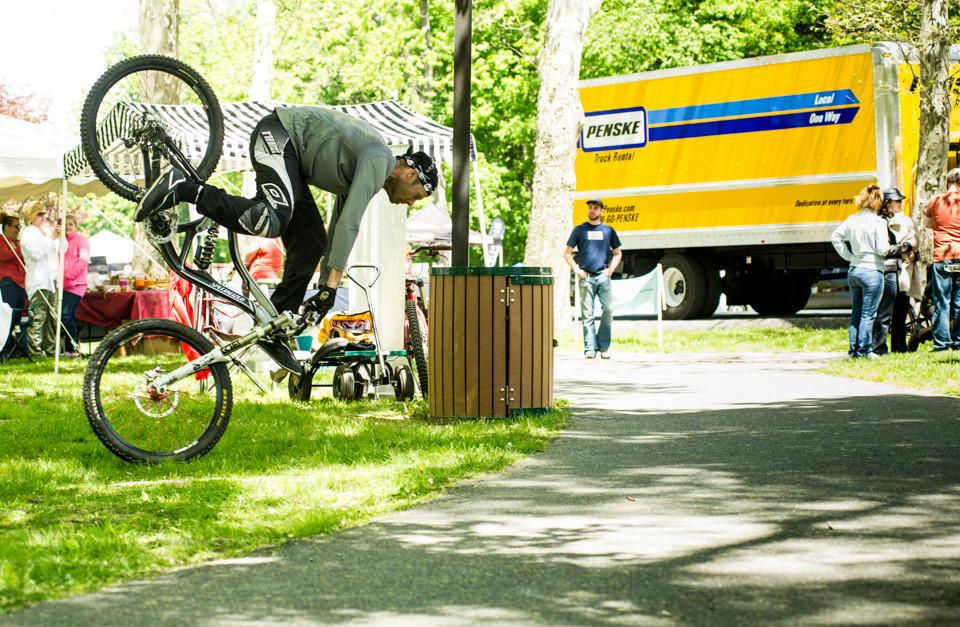 Boertmann nose manual going bad. - Duryea Downhill - Mountain Biking Pictures - Vital MTB