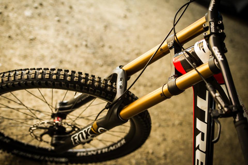 2014 Fox 40 Float RC2 on Brook MacDonald's TWR Race Bike - mdelorme - Mountain Biking Pictures - Vital MTB