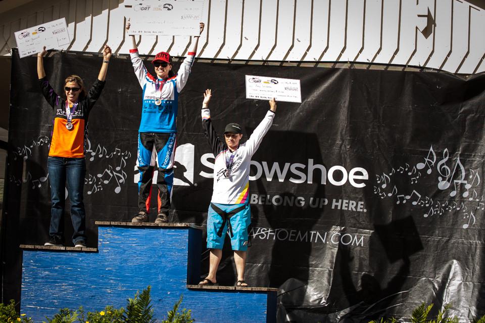 Women Pro Podium - Snowshoe Pro GRT - Mountain Biking Pictures - Vital MTB