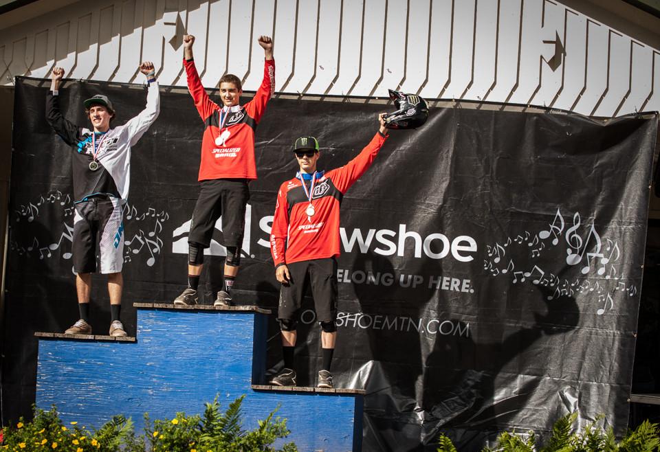 Junior Podium - Snowshoe Pro GRT - Mountain Biking Pictures - Vital MTB