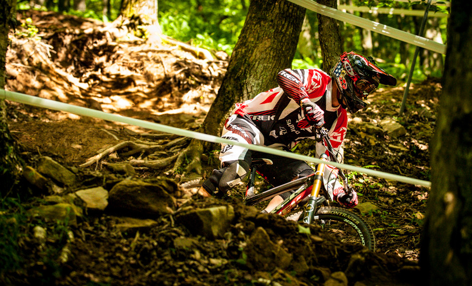 ProGRT Photo Action: Neko Mulally Taking the Win at Snowshoe - Snowshoe Pro GRT - Mountain Biking Pictures - Vital MTB