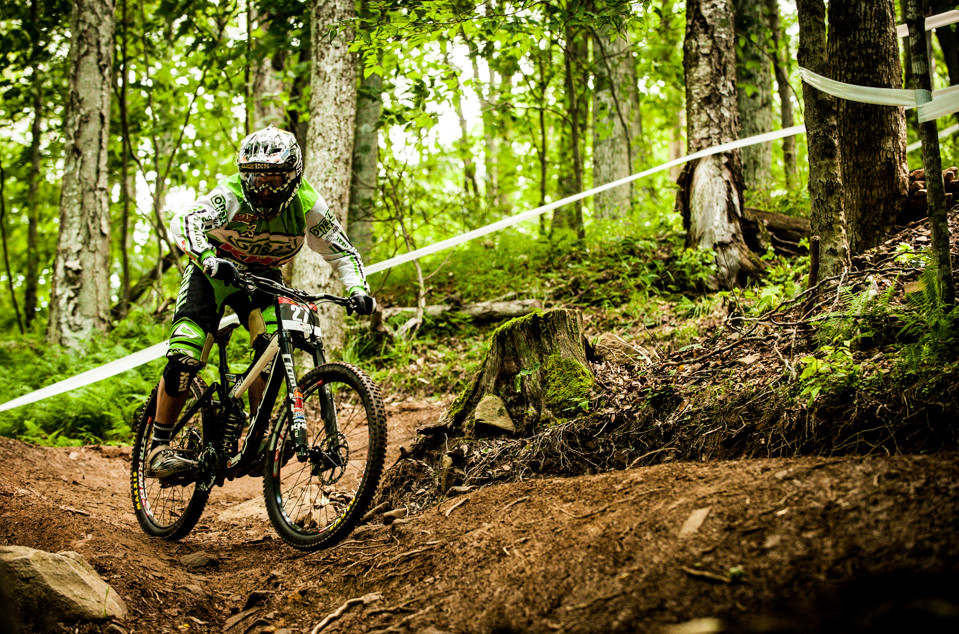 Logan Binggeli, 2nd Place ProGRT Snowshoe West Virgina  - Snowshoe Pro GRT - Mountain Biking Pictures - Vital MTB