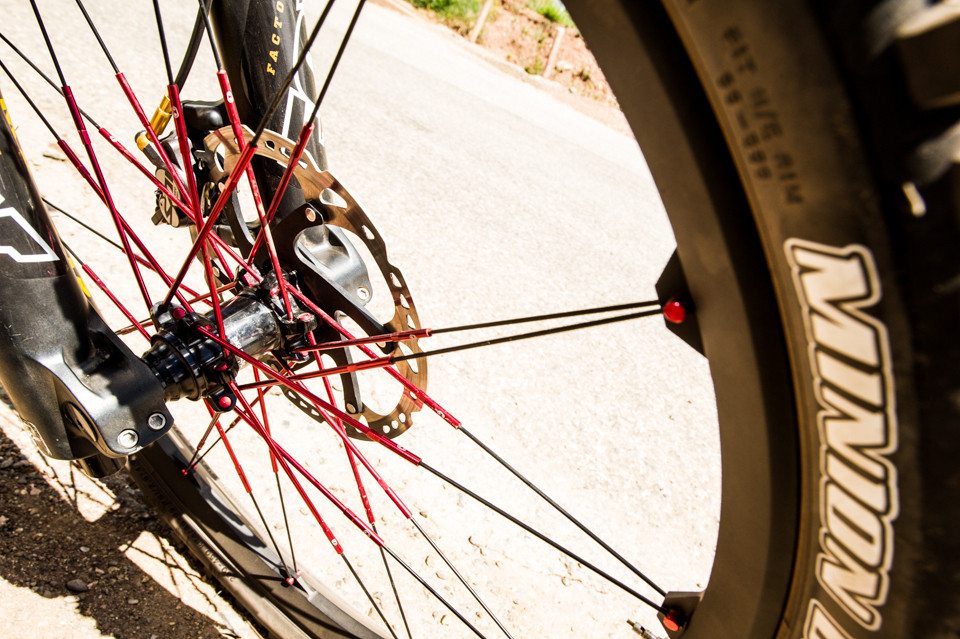Prototype Crank Brothers Wheels for Jill - Pit Bits, US National Championships Angel Fire, NM - Mountain Biking Pictures - Vital MTB