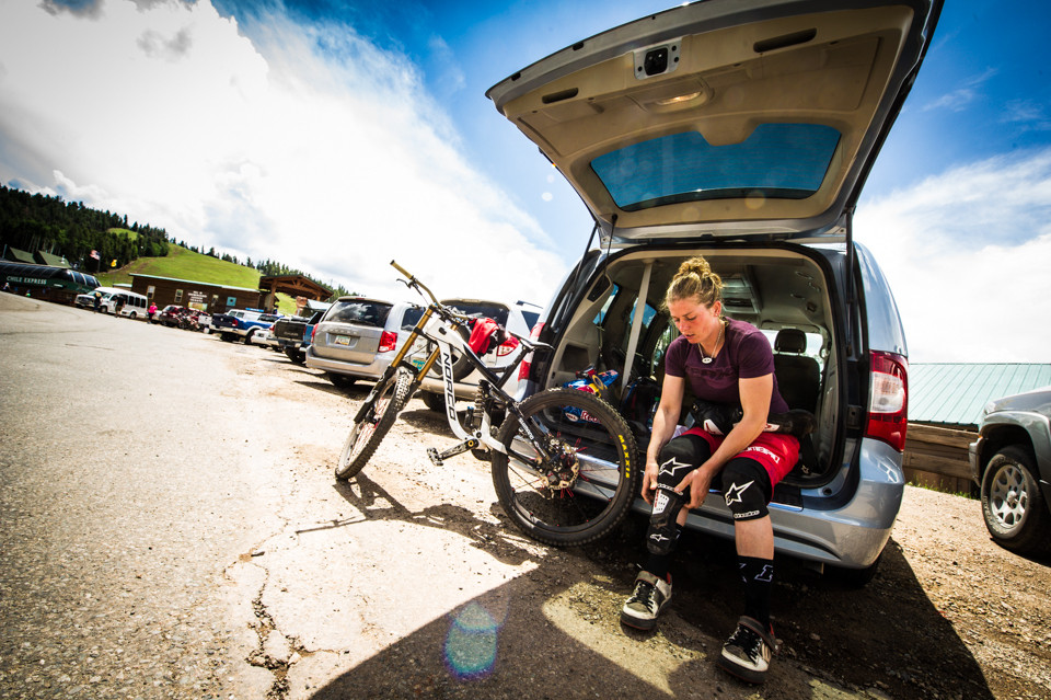 Jill Kintner, Living the Pit Life - Pit Bits, US National Championships Angel Fire, NM - Mountain Biking Pictures - Vital MTB