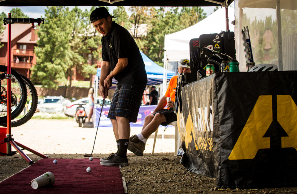 Dylan Dean Fails at Putting - Pit Bits, US National Championships Angel Fire, NM - Mountain Biking Pictures - Vital MTB