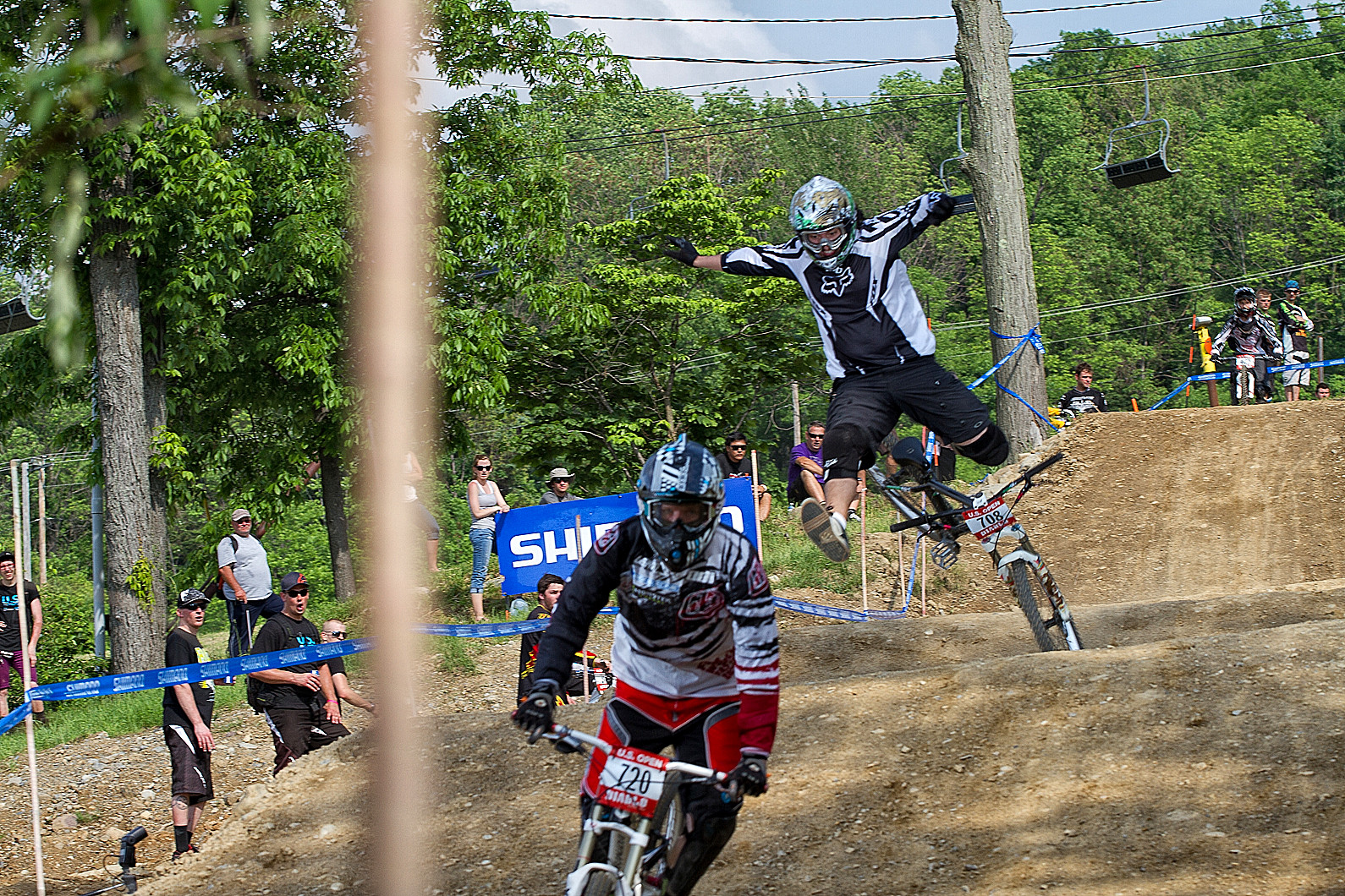 GS Crashes - 2011 US Open Giant Slalom Qualifications - Mountain Biking Pictures - Vital MTB