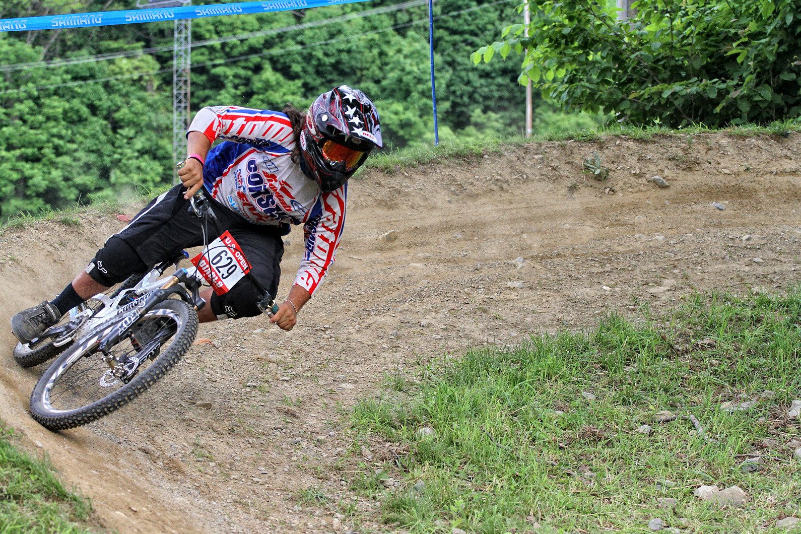 Mikey Haderer - 2011 US Open Giant Slalom Finals - Mountain Biking Pictures - Vital MTB