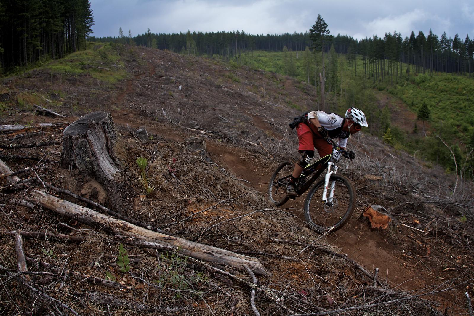 Oregon Enduro Series Hood River, Stage 2 with Craig Harvey - corytepper.com - Mountain Biking Pictures - Vital MTB