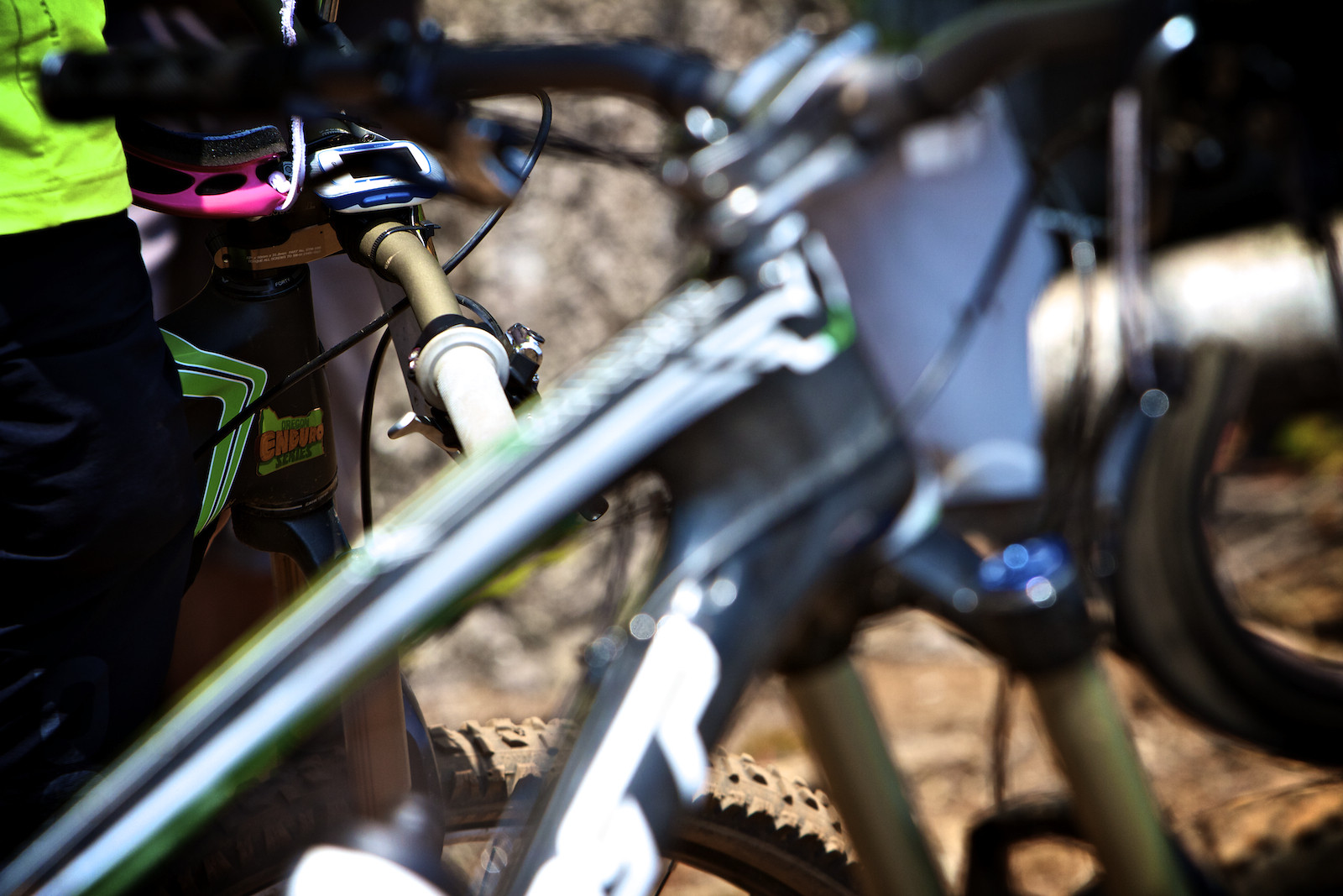 Oregon Enduro Series Stickers - corytepper.com - Mountain Biking Pictures - Vital MTB