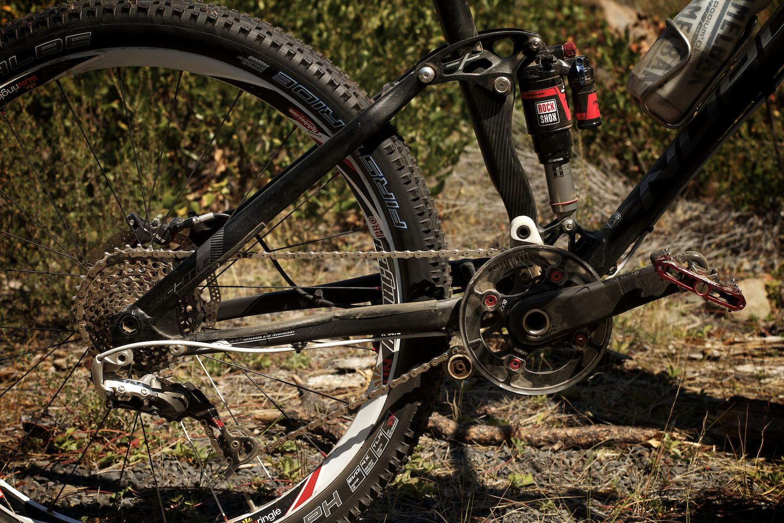 Duncan Riffle's Norco Sight Drivetrain - corytepper.com - Mountain Biking Pictures - Vital MTB