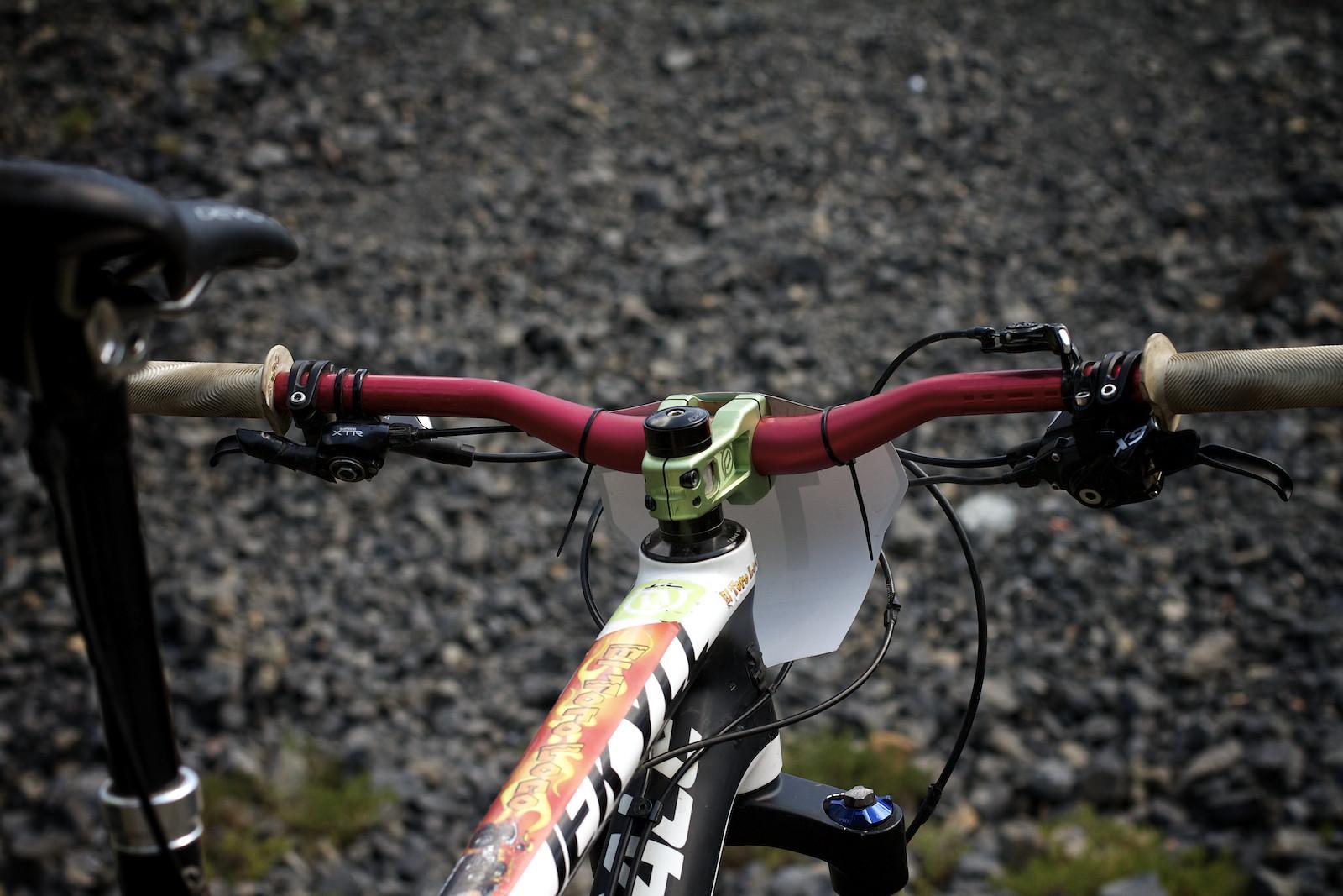 Kyle Warner's Jekyll Cockpit - corytepper.com - Mountain Biking Pictures - Vital MTB
