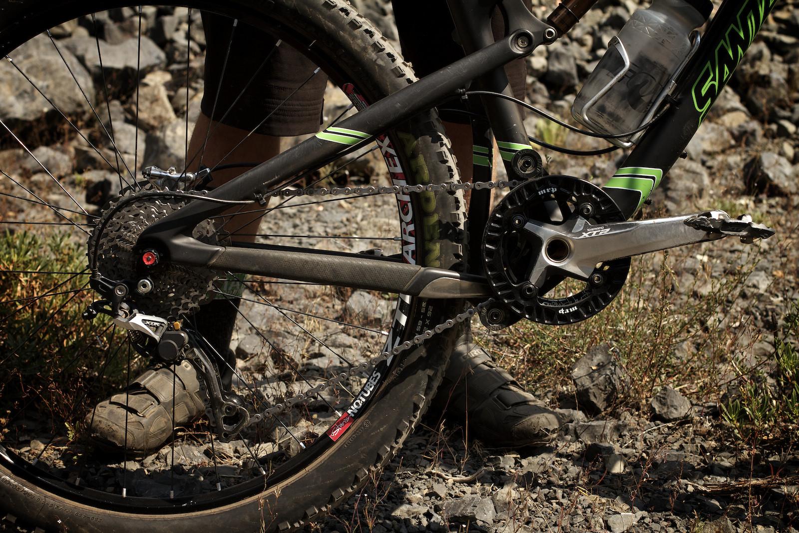 Chris Johnston's Blur TRc Drivetrain - corytepper.com - Mountain Biking Pictures - Vital MTB