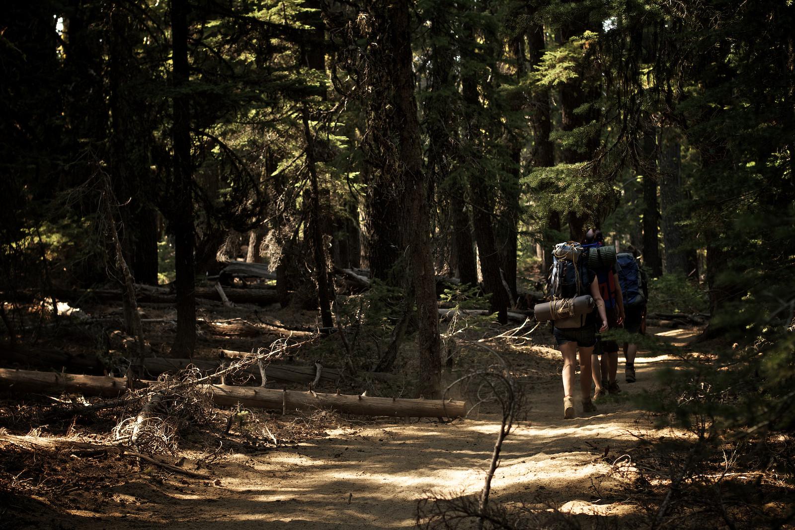 2012 Sisters Enduro Hiking - corytepper.com - Mountain Biking Pictures - Vital MTB