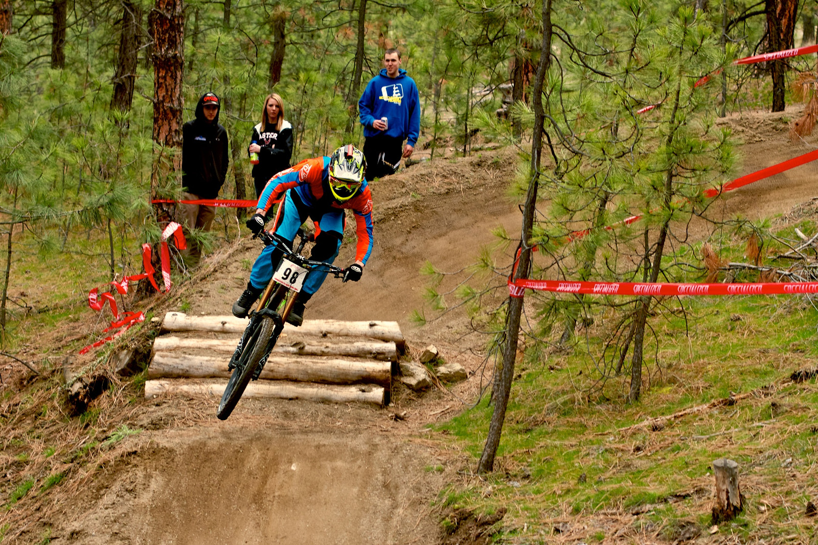 So pitted. Lars Sternberg keeps it low and fast - corytepper.com - Mountain Biking Pictures - Vital MTB