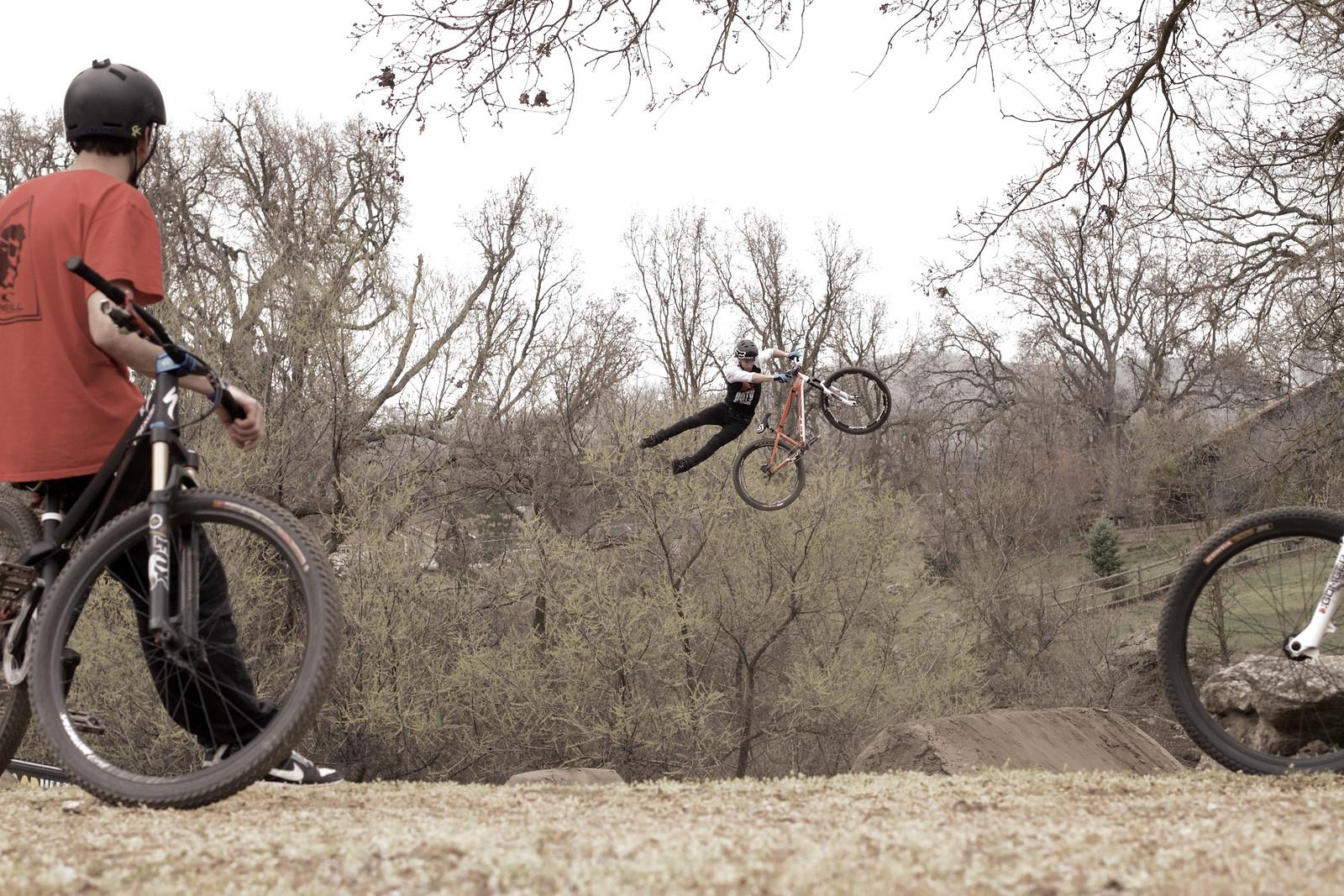 Tyler McCaul, Morning Stretch - corytepper.com - Mountain Biking Pictures - Vital MTB
