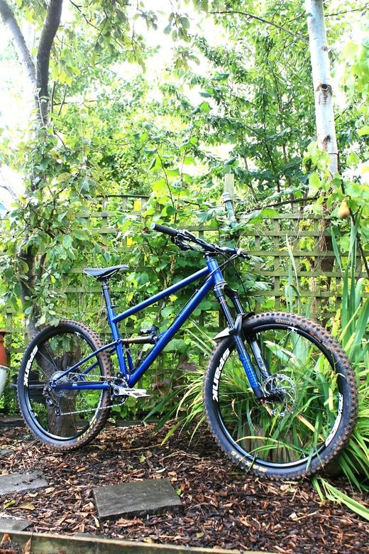Starling Cycles custom steel 150mm race bike...