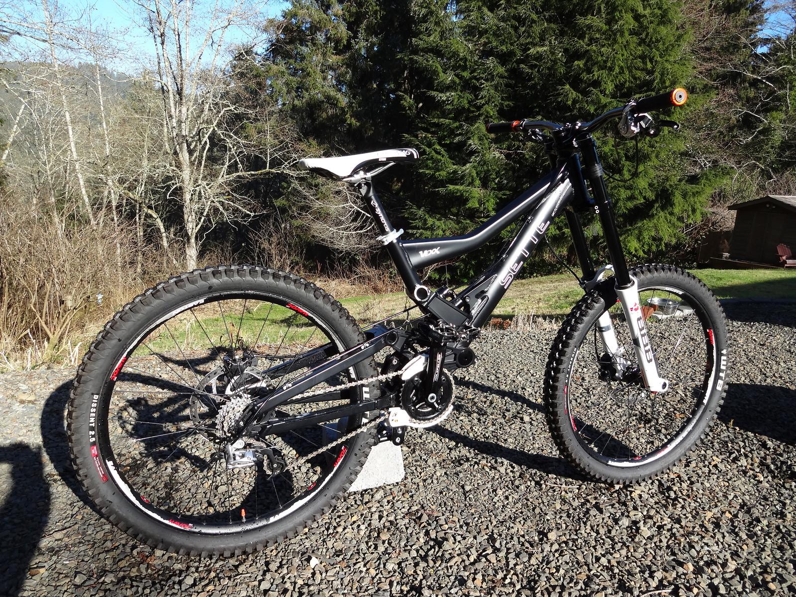 Sette Vexx (My Bargain DH Bike)