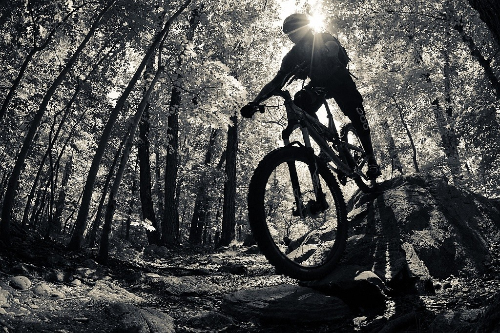 Rolling over rocks - jparker - Mountain Biking Pictures - Vital MTB