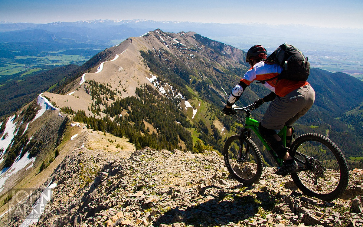 montana mountain biking Affordably improve your space today with mountain biking posters and prints you  love  route of the hiawatha st regist, montana - mountain bike scene by.