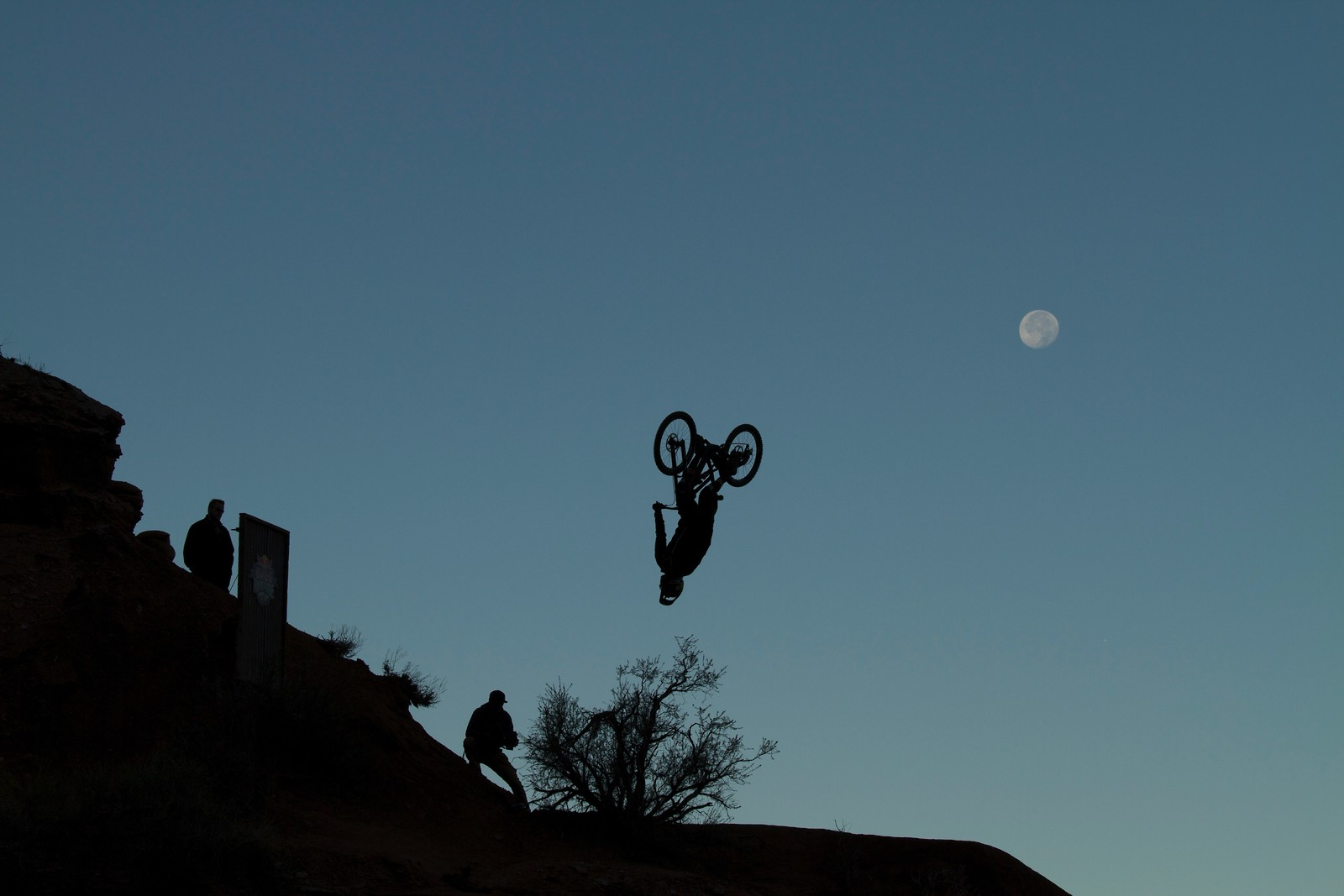 Moon Flip Rampage - Malcolm Mclaws - Mountain Biking Pictures - Vital MTB