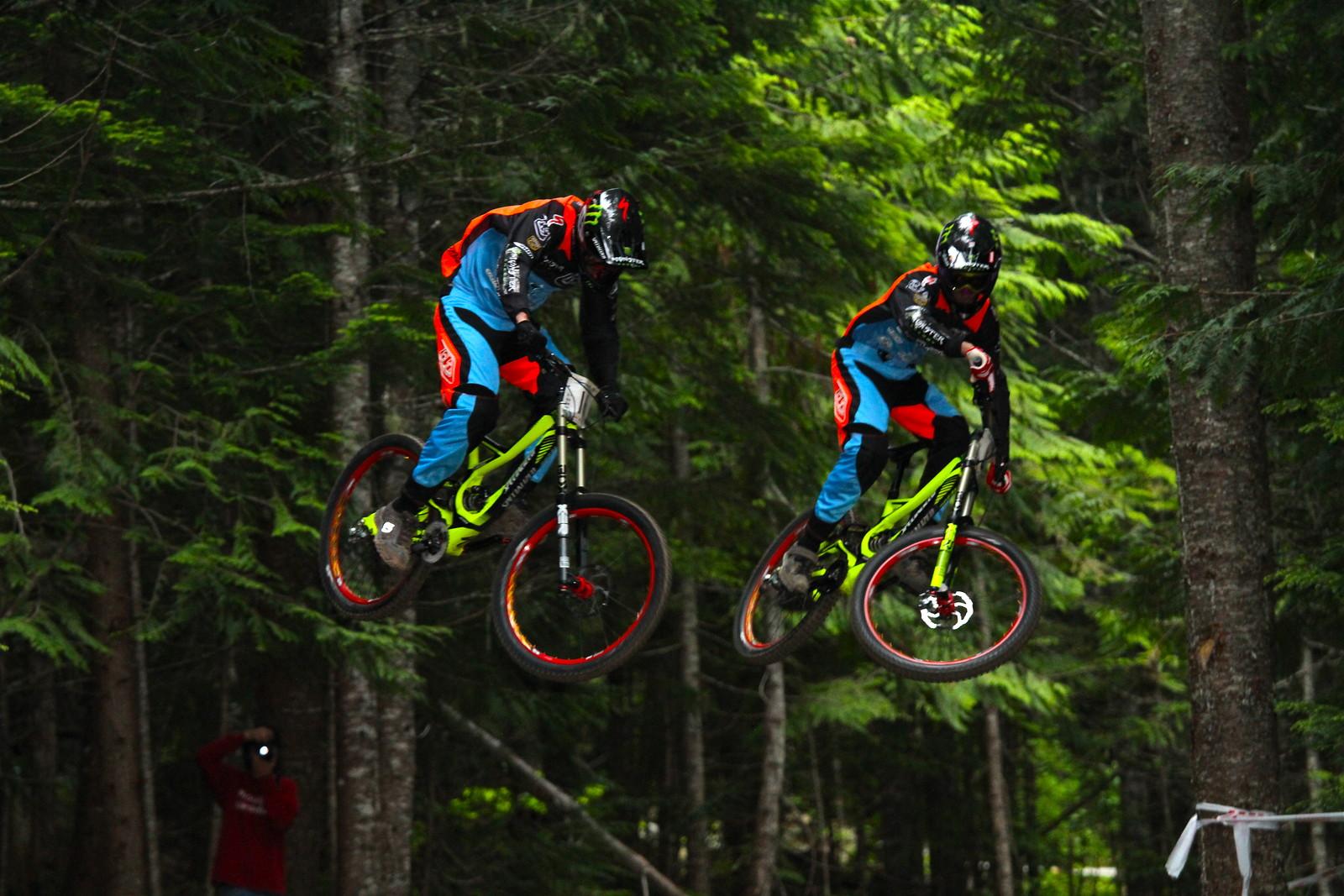 Fairclough & Brosnan - Malcolm Mclaws - Mountain Biking Pictures - Vital MTB