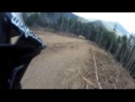 This Is Peaty - Drift HD - Andorra World Cup Preview 2013 Helmet Cam