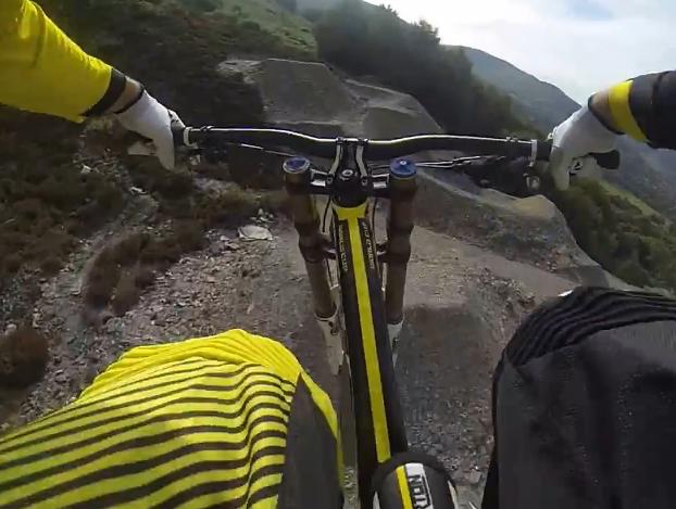 Revolution Bike Park Quarry Line - Dan Atherton