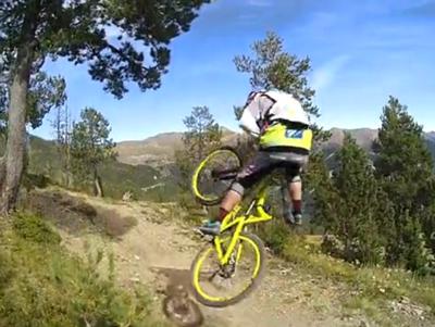 Cedric Gracia Mountain Biking In Andorra - Drift Ghost-S