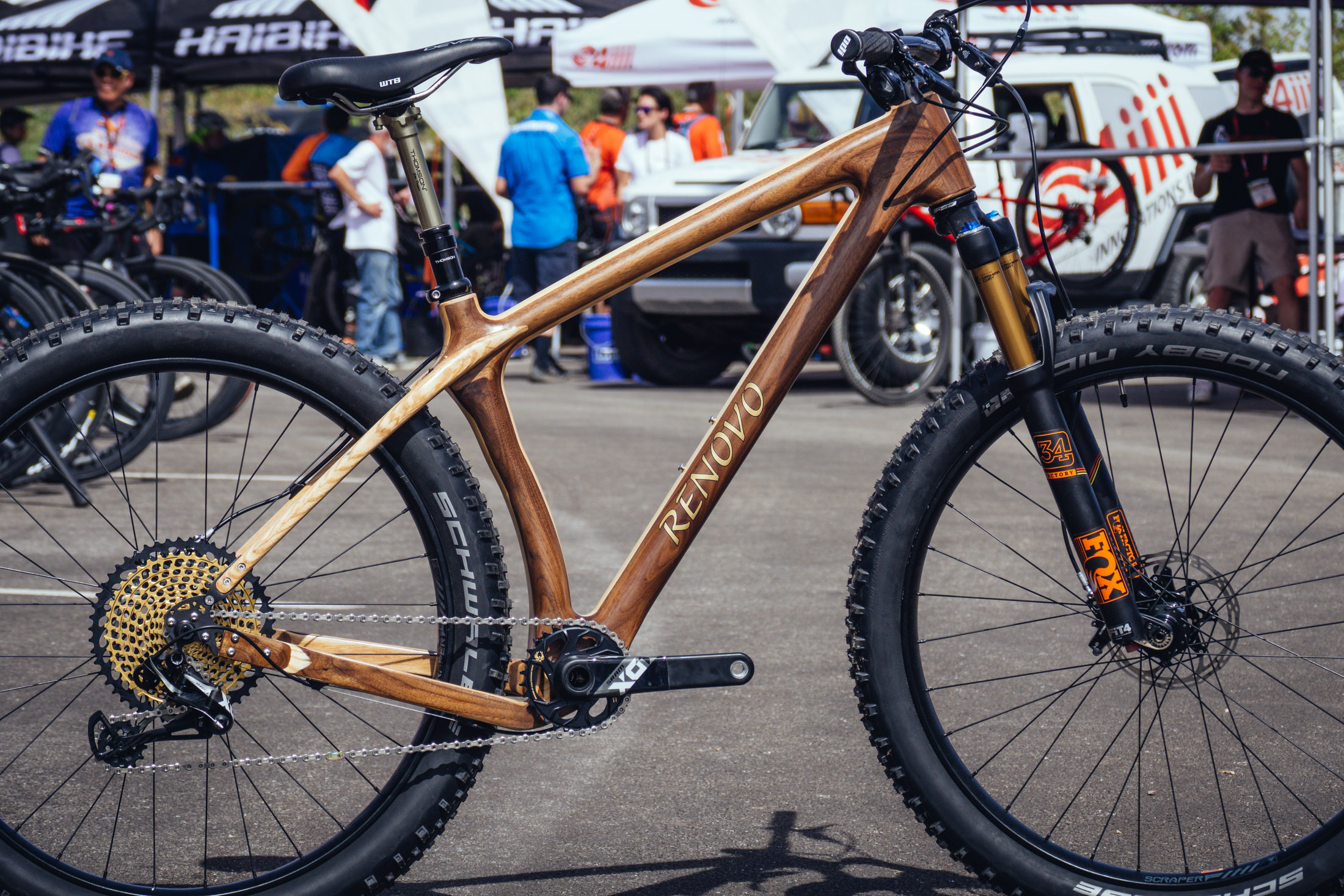 Renovo Wooden Bicycles Interbike 2017 Enduro And Trail