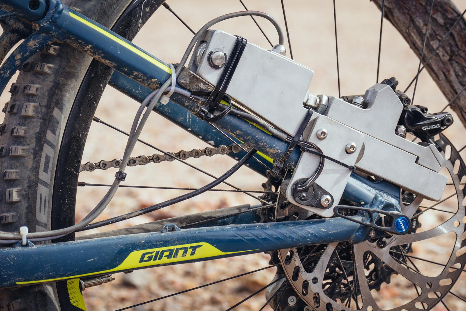 Brake Power Meter - INTERBIKE - 2017 Mountain Bike Components - Mountain Biking Pictures - Vital MTB