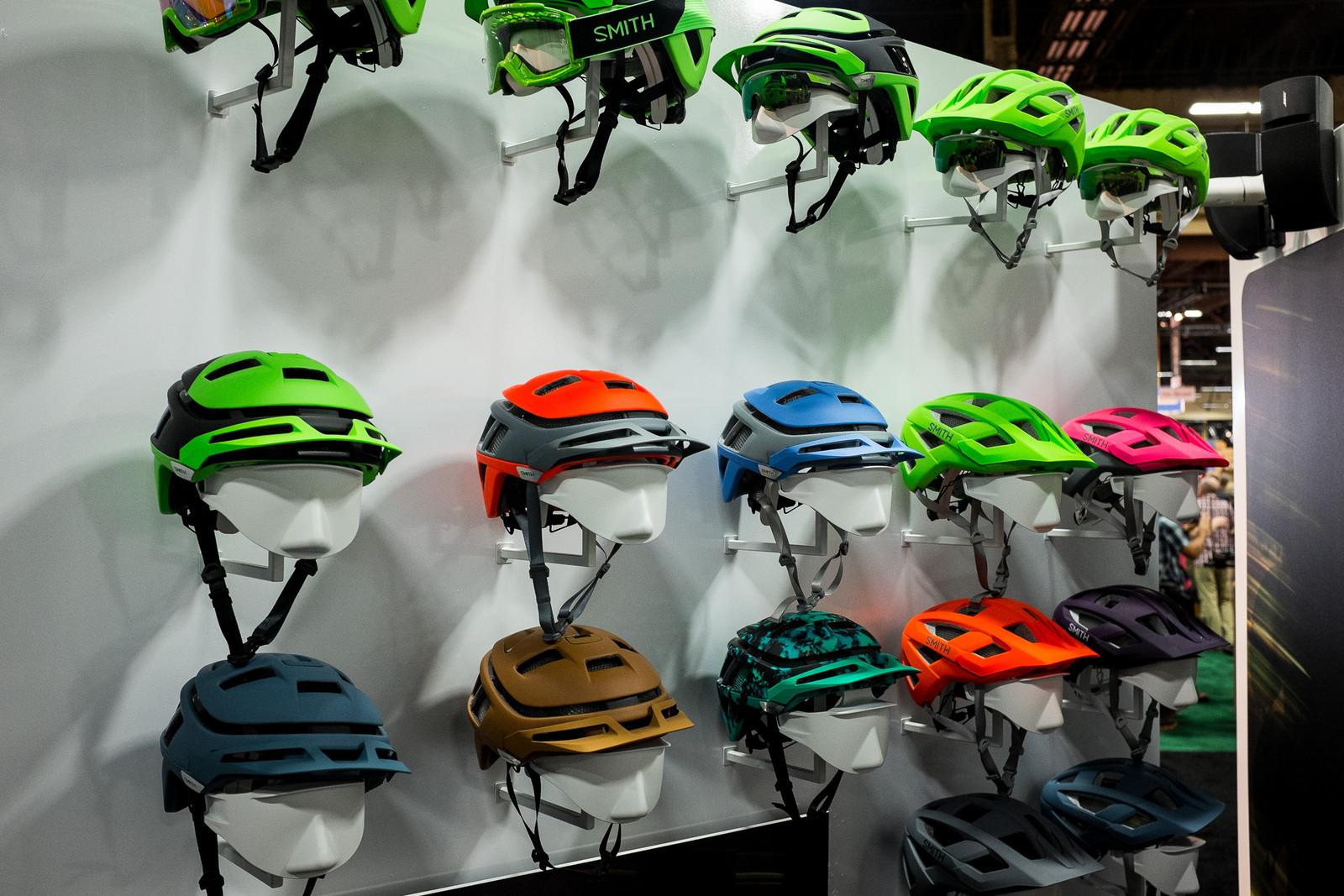 2017 Smith Helmets - INTERBIKE - 2017 Mountain Bike Apparel and Protective Gear - Mountain Biking Pictures - Vital MTB