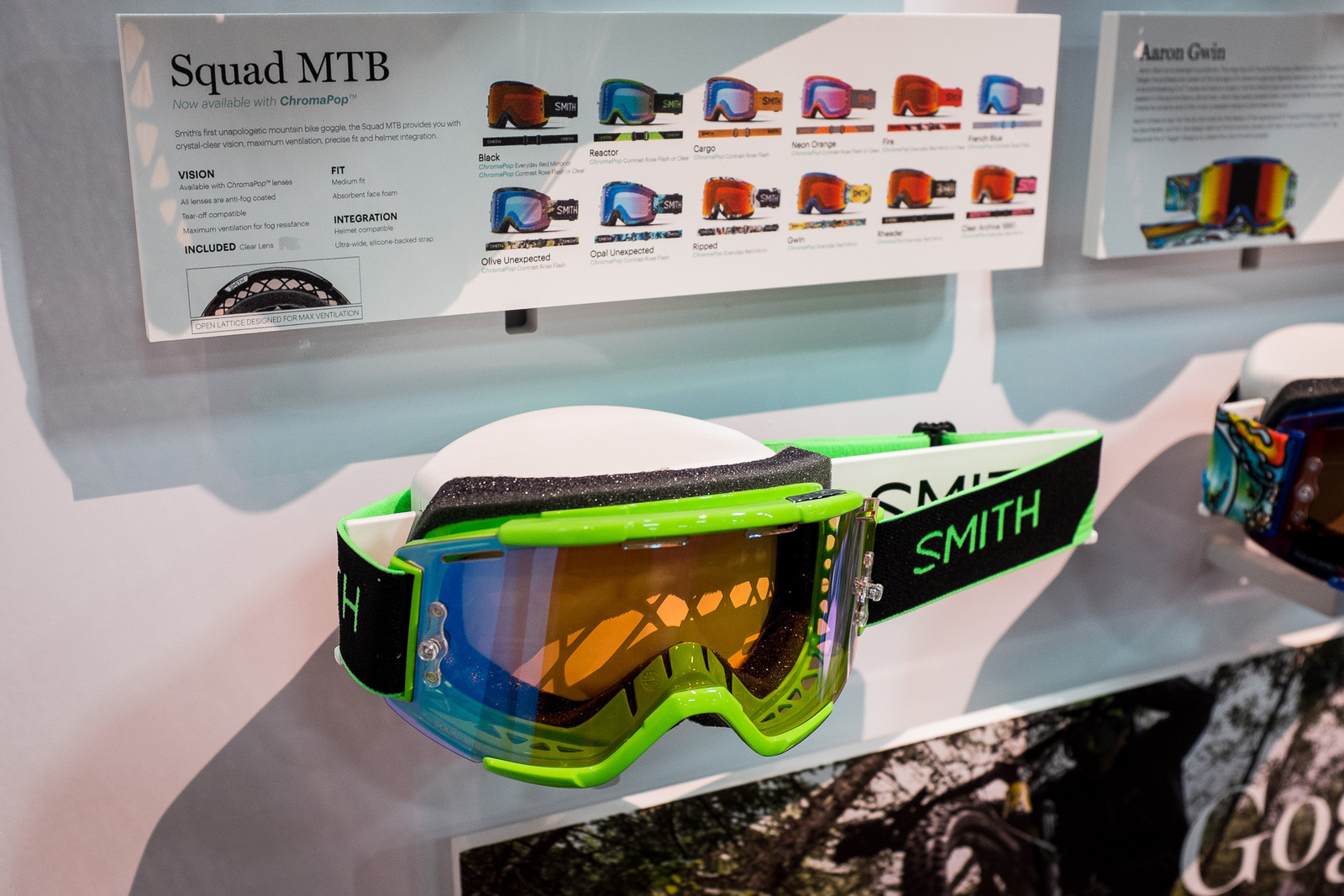 2017 Smith Goggles - INTERBIKE - 2017 Mountain Bike Apparel and Protective Gear - Mountain Biking Pictures - Vital MTB