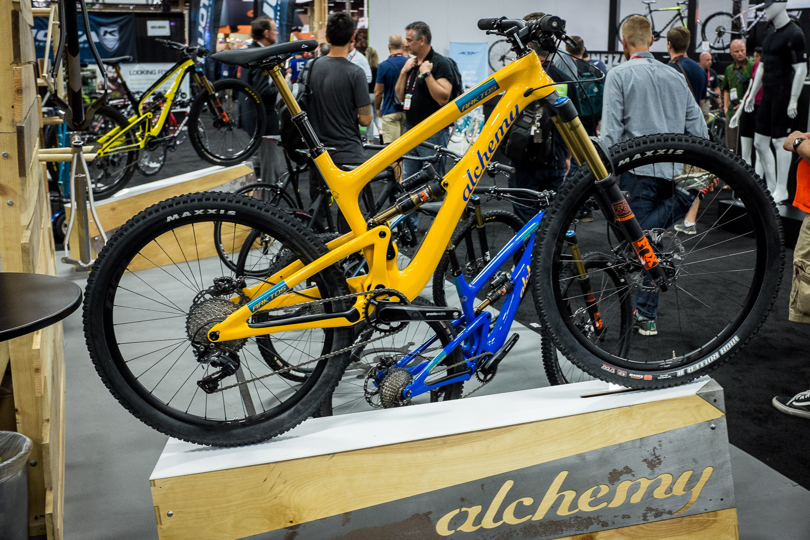 Alchemy Arktos - INTERBIKE - 2017 Enduro and Trail Bikes - Mountain Biking Pictures - Vital MTB