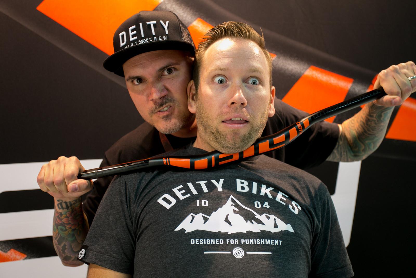 2017 Deity Components at Interbike - INTERBIKE - 2017 Mountain Bike Components - Mountain Biking Pictures - Vital MTB