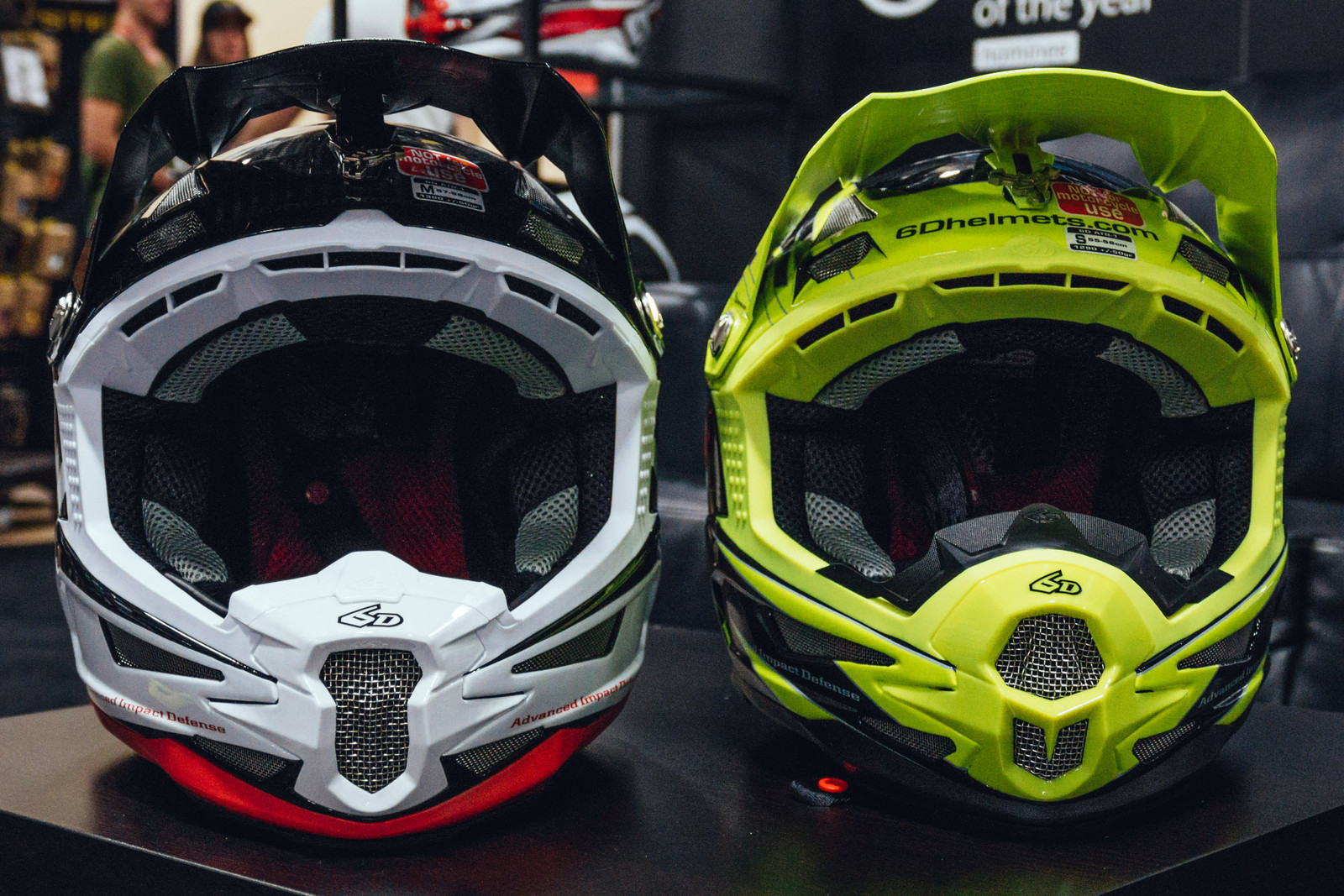 6D ATB-1 Full Face Update and Fresh Designs - INTERBIKE - 2017 Mountain Bike Apparel and Protective Gear - Mountain Biking Pictures - Vital MTB