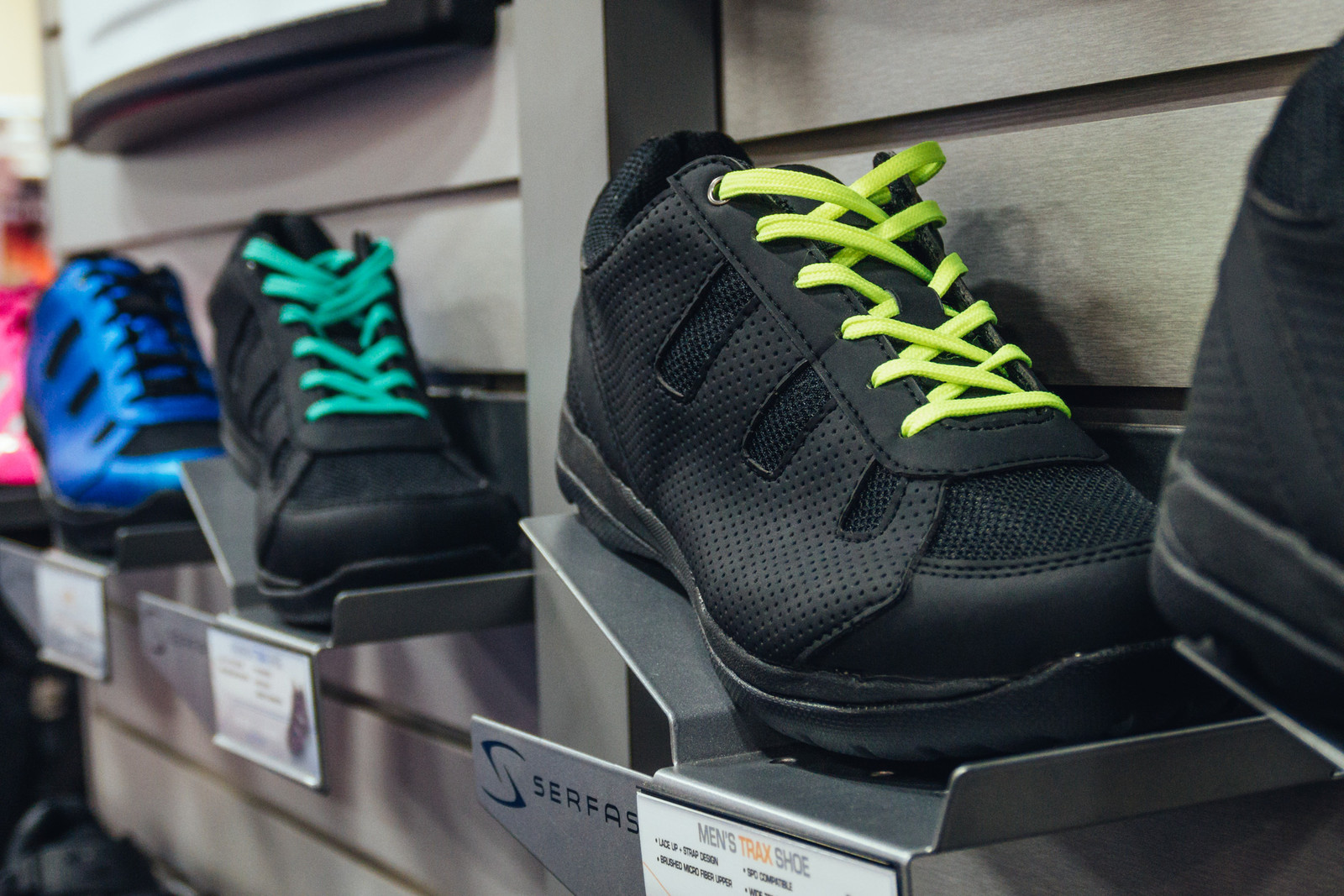 Updated Serfas Trax Shoes - INTERBIKE - 2017 Mountain Bike Apparel and Protective Gear - Mountain Biking Pictures - Vital MTB