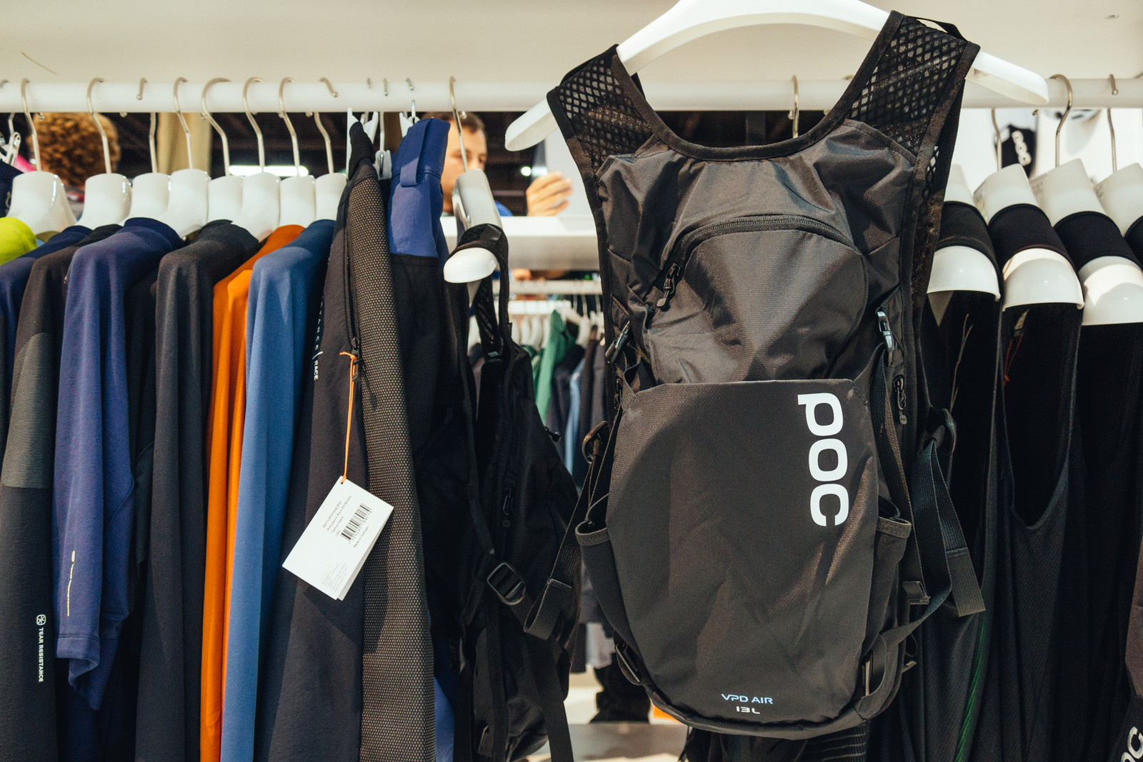 POC VPD Spine Pack - INTERBIKE - 2017 Mountain Bike Apparel and Protective Gear - Mountain Biking Pictures - Vital MTB