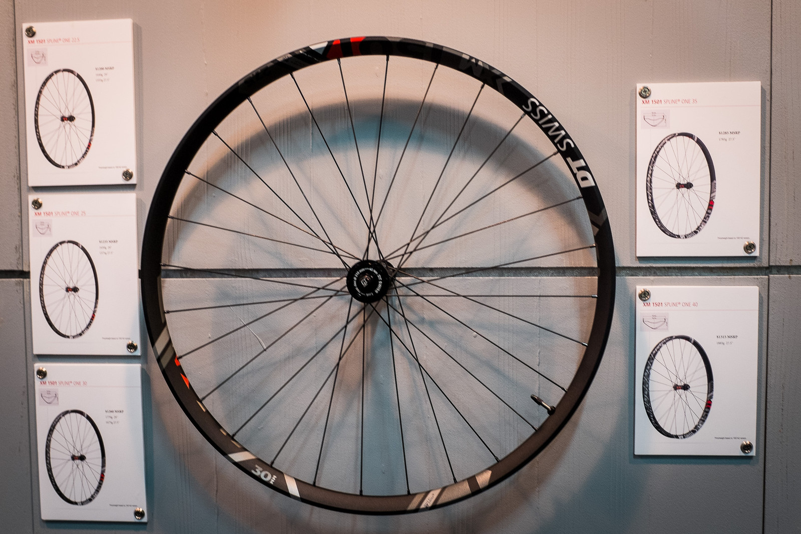 DT Swiss XM 1501 Updated Wheelsets - INTERBIKE - 2017 Mountain Bike Components - Mountain Biking Pictures - Vital MTB
