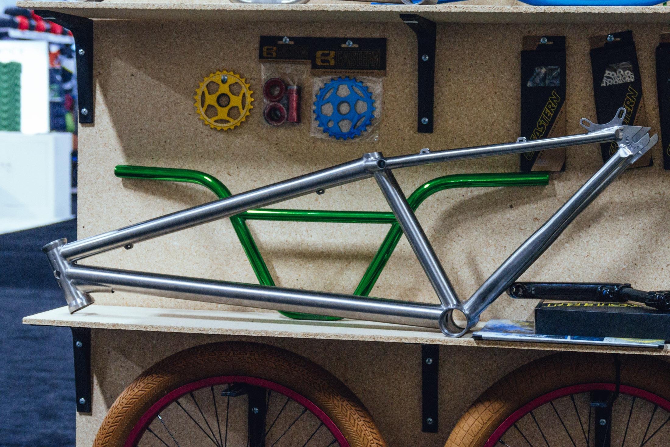 Eastern Nighttrain Titanium Dirt Jump Frame Interbike