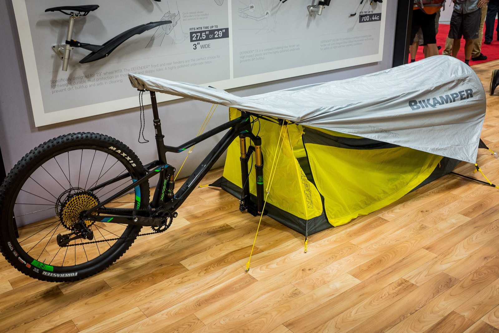 Topeak BikePacker Tent - INTERBIKE - 2017 Mountain Bike Components - Mountain Biking Pictures - Vital MTB