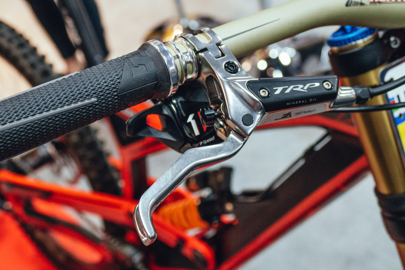 TRP G-Spec and Slate T4 Disc Brakes - INTERBIKE - 2017 Mountain Bike Components - Mountain Biking Pictures - Vital MTB