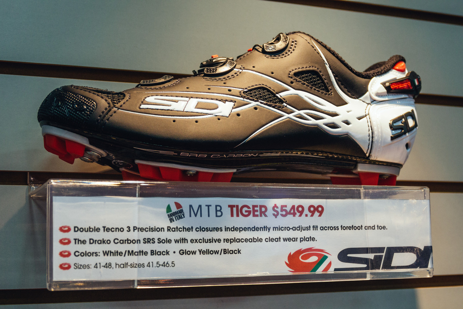 Sidi Tiger Clipless Shoe - INTERBIKE - 2017 Mountain Bike Apparel and Protective Gear - Mountain Biking Pictures - Vital MTB