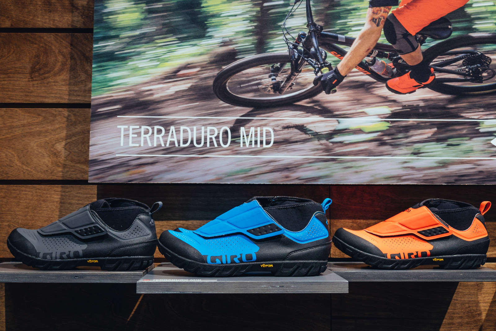 Giro Terraduro Mid Shoe - INTERBIKE - 2017 Mountain Bike Apparel and Protective Gear - Mountain Biking Pictures - Vital MTB