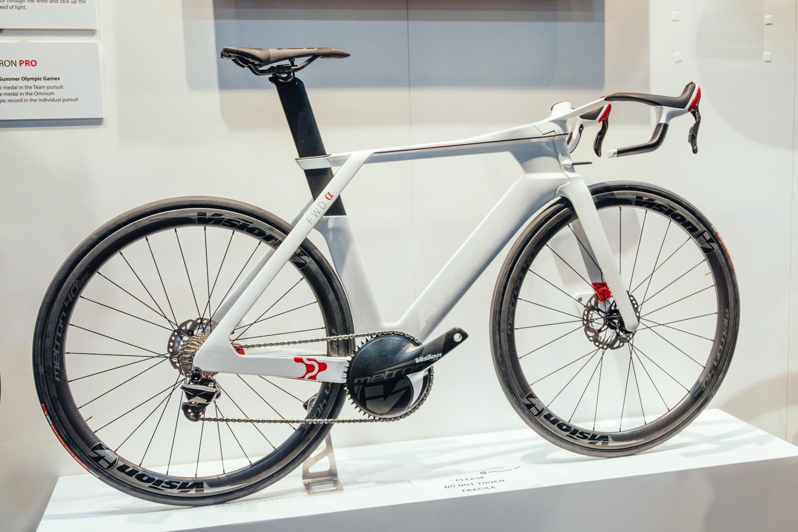 Argon 18 Concept Bike with Integrated Disc Brakes 2 - INTERBIKE - 2017 Enduro and Trail Bikes - Mountain Biking Pictures - Vital MTB