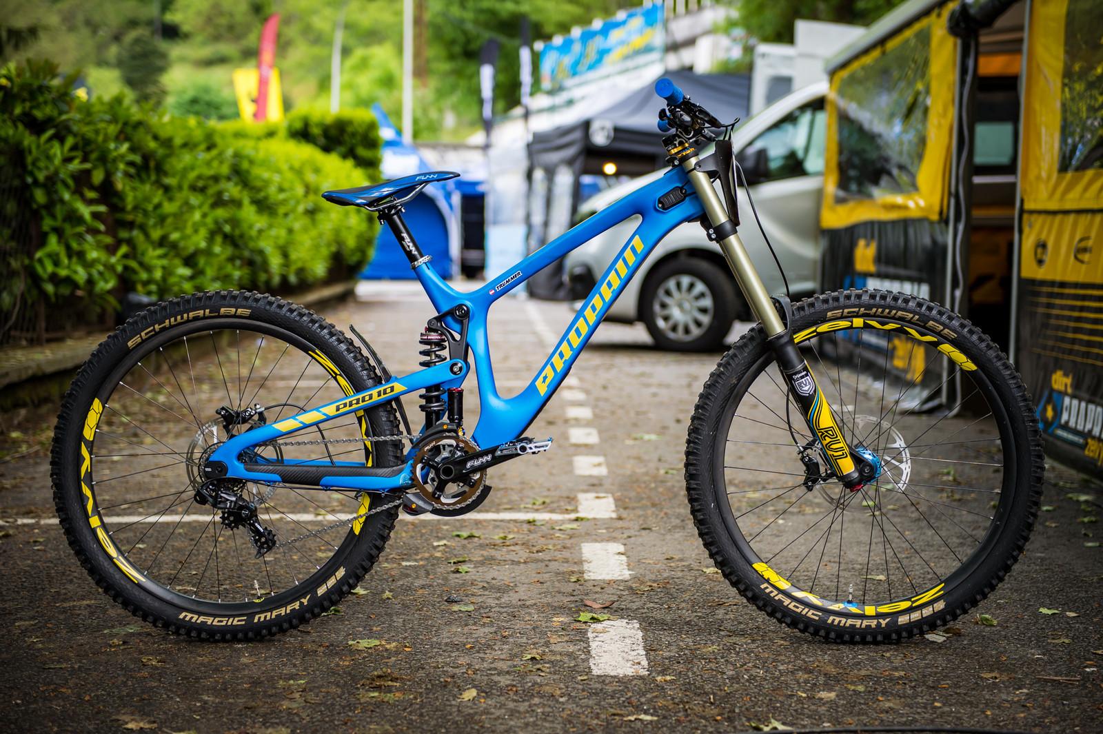 Propain Dirt Zelvy - 2017 Lourdes World Cup Pit Bits - Mountain Biking Pictures - Vital MTB